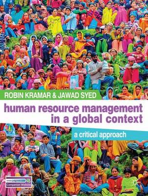 ISBN: 9780230251533 - Human Resource Management in a Global Context