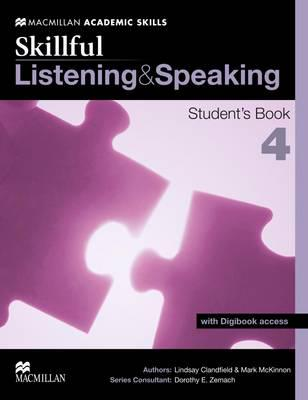 ISBN: 9780230431973 - Skillful Listening and Speaking Student's Book + Digibook Level 4