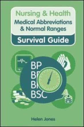 ISBN: 9780273744030 - Medical Abbreviations and Normal Ranges