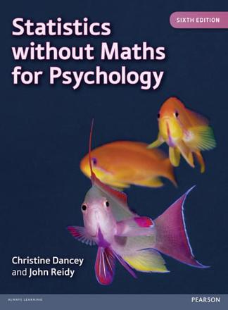 ISBN: 9780273774990 - Statistics without Maths for Psychology
