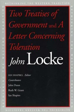 ISBN: 9780300100181 - Two Treatises of Government and a Letter Concerning Toleration
