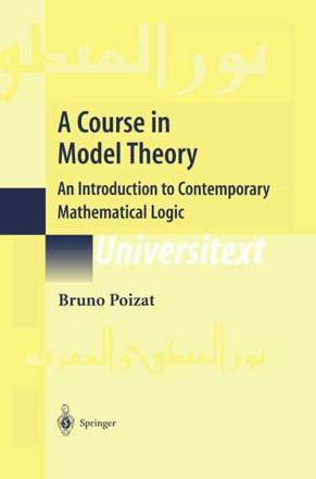 ISBN: 9780387986555 - A Course in Model Theory