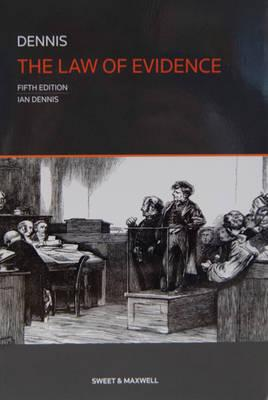ISBN: 9780414025622 - The Law of Evidence