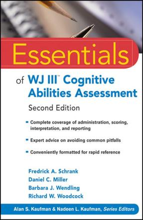 ISBN: 9780470566640 - Essentials of WJ III Cognitive Abilities Assessment