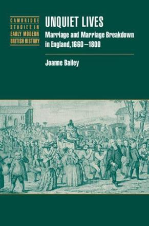 Wilt Thou Obey and Serve Him: The Marital Power Balance - in -  Unquiet lives: marriage and marriage breakdown in England, 1660-1800