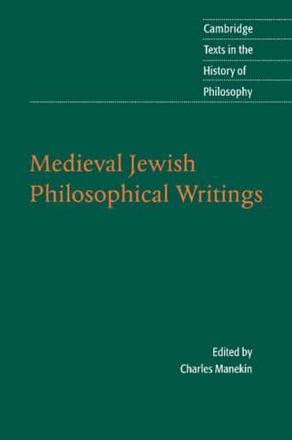 ISBN: 9780521549516 - Medieval Jewish Philosophical Writings