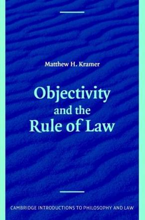 ISBN: 9780521670104 - Objectivity and the Rule of Law