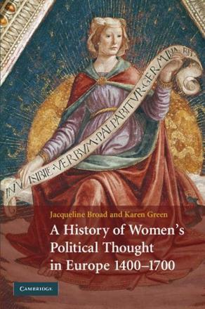 ISBN: 9780521888172 - A History of Women's Political Thought in Europe 1400 - 1700