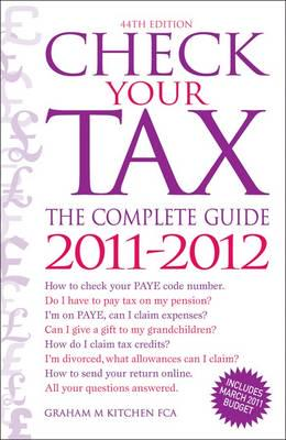 ISBN: 9780572036461 - Check Your Tax - The Complete Guide 2011-2012