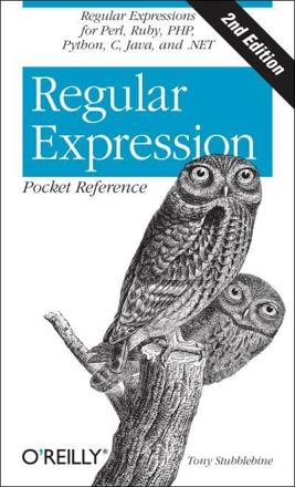 ISBN: 9780596514273 - Regular Expression Pocket Reference