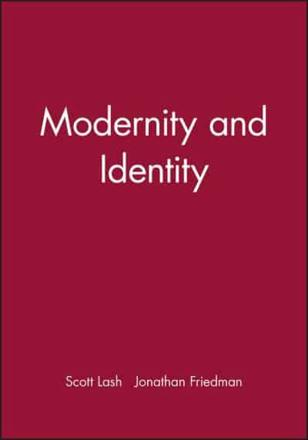 ISBN: 9780631175865 - Modernity and Identity