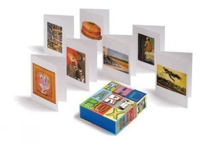 ISBN: 9780714865256 - The Art Box Greeting Cards (Blue Selection)