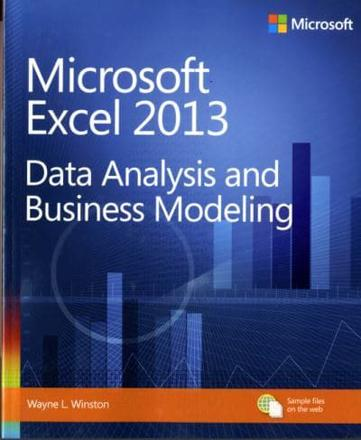 ISBN: 9780735669130 - Data Analysis and Business Modeling