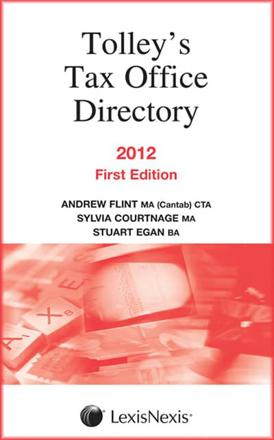 ISBN: 9780754540694 - Tax Office Directory 2012