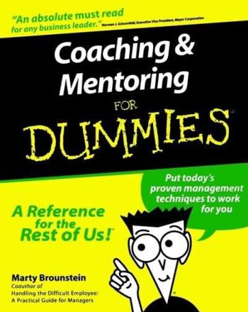 ISBN: 9780764552236 - Coaching and Mentoring For Dummies