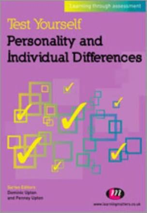 ISBN: 9780857256614 - Test Yourself: Personality and Individual Differences