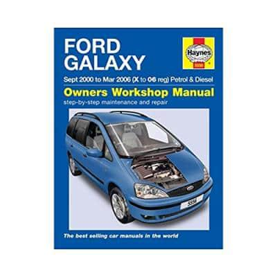 ISBN: 9780857335562 - Ford Galaxy Petrol & Diesel Service and Repair Manual