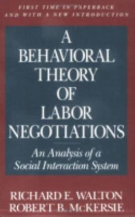 an analysis of behavioral theory