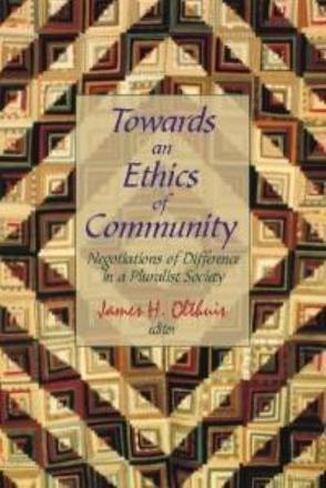 ISBN: 9780889203396 - Towards an Ethics of Community