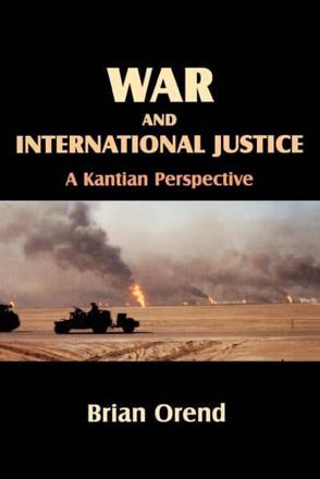 ISBN: 9780889203600 - War and International Justice