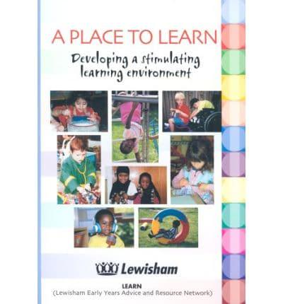 ISBN: 9780901637109 - A Place to Learn
