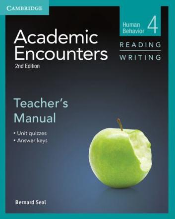 ISBN: 9781107603004 - Academic Encounters Level 4 Teacher's Manual Reading and Writing