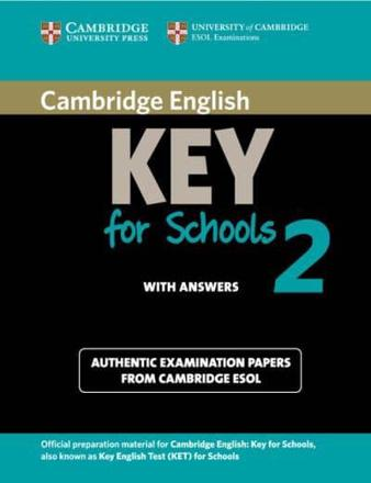 ISBN: 9781107603141 - Cambridge English Key for Schools 2 Student's Book with Answers