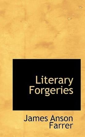ISBN: 9781110998937 - Literary Forgeries