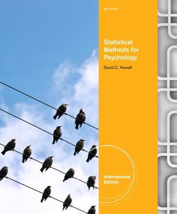 Statistical Methods for Psychology - ISBN:9781408088647