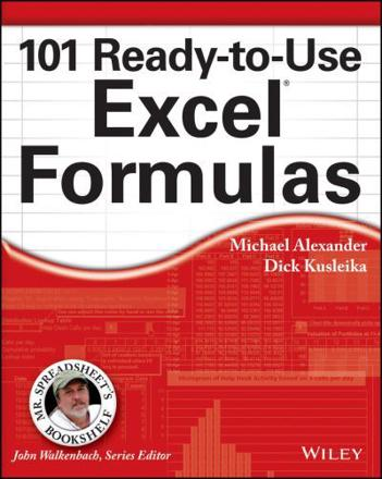 ISBN: 9781118902684 - 101 Ready-to-Use Excel Formulas
