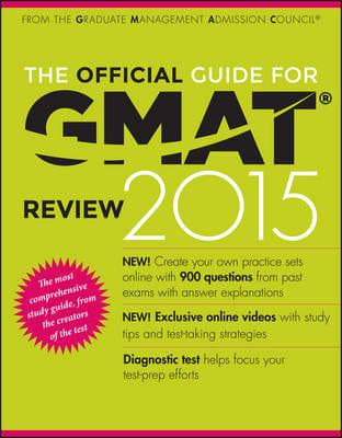 ISBN: 9781118914090 - The Official Guide for GMAT Review 2015 With Online Question Bank and Exclusive Video