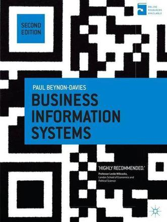 ISBN: 9781137265807 - Business Information Systems