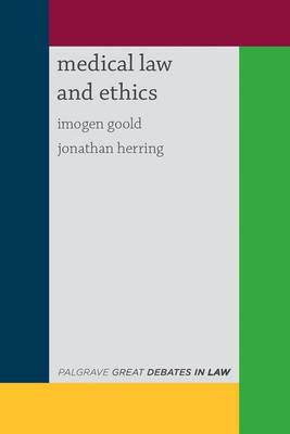 ISBN: 9781137327468 - Great Debates in Medical Law and Ethics