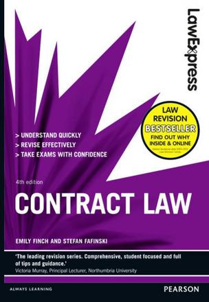 ISBN: 9781292012834 - Law Express: Contract Law