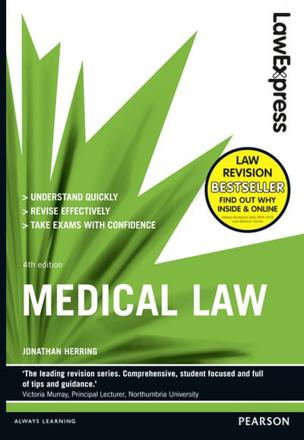 ISBN: 9781292012889 - Law Express: Medical Law