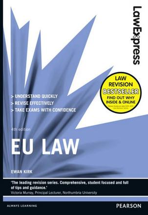 ISBN: 9781292012896 - Law Express: EU Law