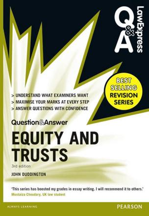 ISBN: 9781292066615 - Law Express Question and Answer: Equity and Trusts(Q&A Revision Guide)