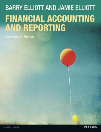 ISBN: 9781292080505 - Financial Accounting and Reporting