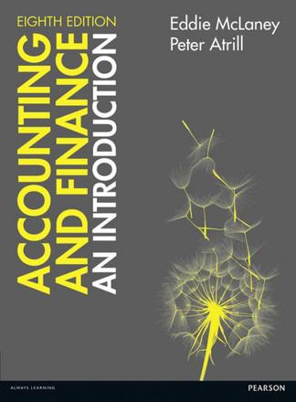 ISBN: 9781292088372 - Accounting and Finance: An Introduction with Myaccountinglab Access Card