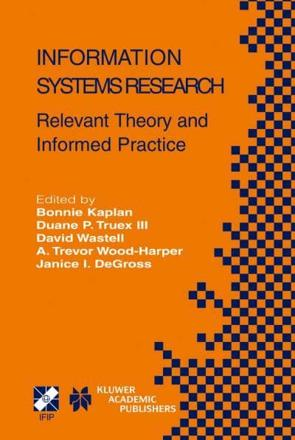 ISBN: 9781402080944 - Information Systems Research