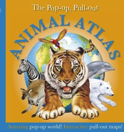 ISBN: 9781405336635 - Pop-up, Pull-out, Animal Atlas