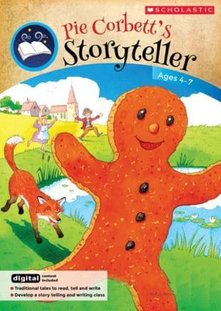 Storyteller: traditional tales to read, tell and write, For ages 4 to 7