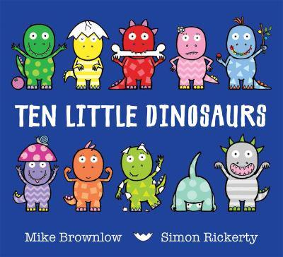ISBN: 9781408334010 - Ten Little Dinosaurs