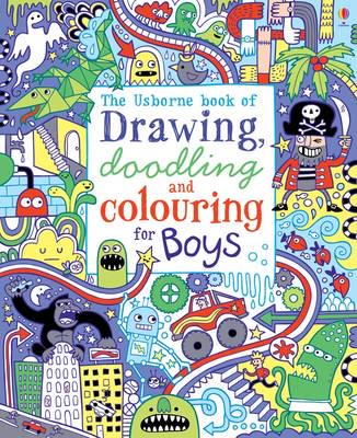 ISBN: 9781409539667 - Drawing, Doodling and Colouring: Boys