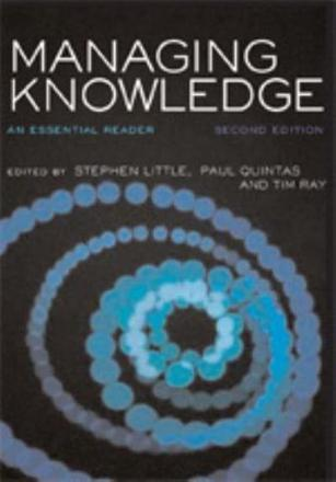 ISBN: 9781412912419 - Managing Knowledge