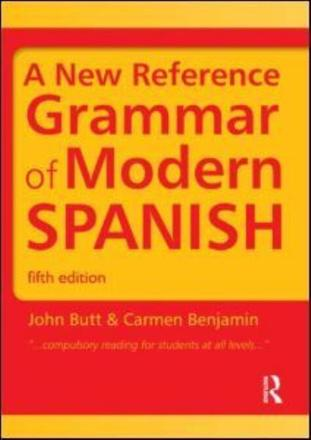 ISBN: 9781444137699 - A New Reference Grammar of Modern Spanish