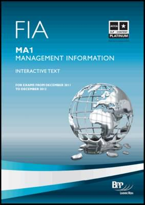 ISBN: 9781445373010 - FIA - Management Information MA1: MA1