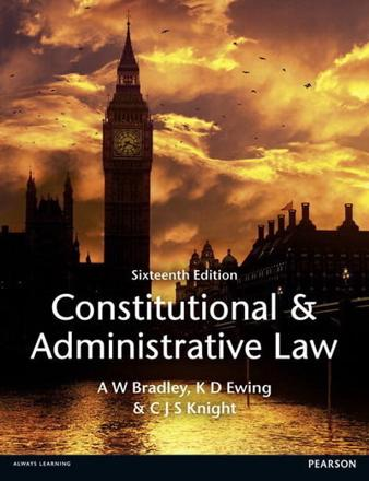 ISBN: 9781447904212 - Constitutional and Administrative Law