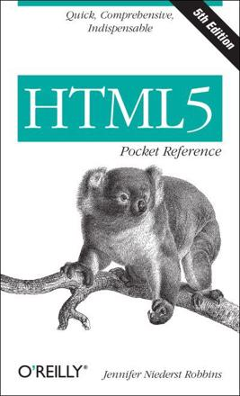 ISBN: 9781449363352 - HTML5 Pocket Reference