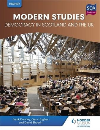 ISBN: 9781471835896 - Higher Modern Studies for CFE: Democracy in Scotland and the UK